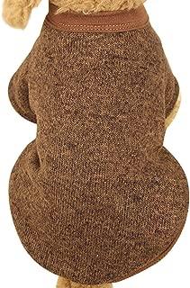 Farjing Pet Dog Sweater,Warm Puppy Sweater Fleece Sweater Clothes