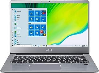 ايسر سويفت 3 SF314 بتصميم فائق النحافة ايفو بمعالج انتل كور i5-1135G7 جيل 11 ـ 8GB DDR4 ذاكرة RAM/وسيط تخزين SSD ـ 512GB /...