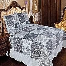 Livingston Home 3 Piece Quilt Set/Full/Queen, Autumn