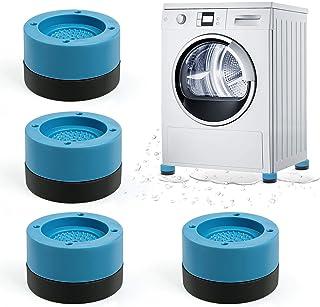 Pieds de Machine à Laver, Comius Sharp 4 Pièces Tampons à Pied Machine à Laver Anti Vibration Rondelle Pieds Pad Anti-vibr...