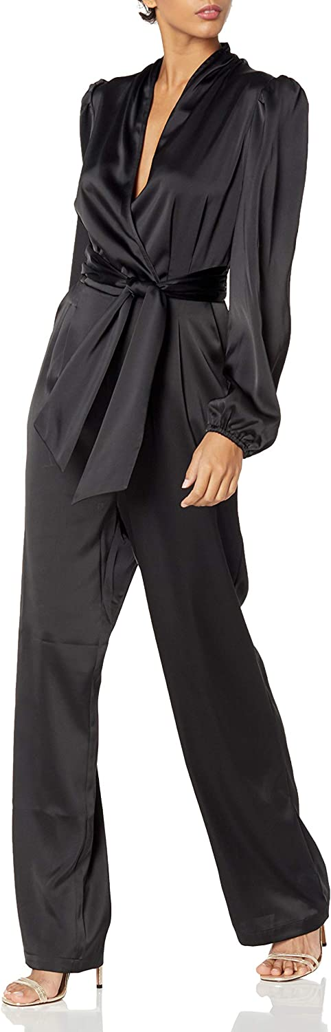 KENDALL + KYLIE 67% OFF of fixed NEW before selling ☆ price Women's Jumpsuit Sleeve Belted Bell