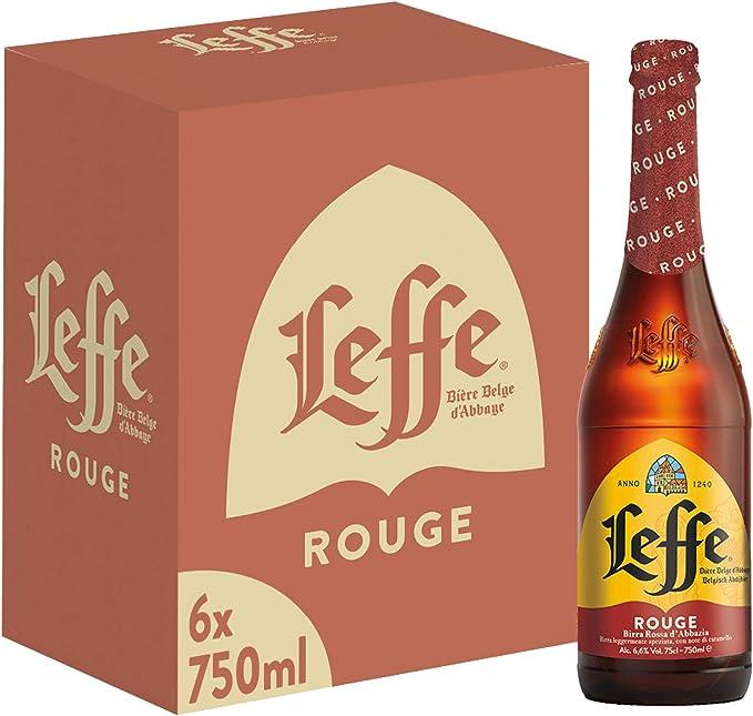 254 opinioni per Leffe Rouge Birra, Bottiglia- Pacco da 6 x 750 ml
