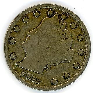 1912 S Liberty Head Nickel VG-10