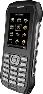 Plum Ram 7 - 3G Rugged Unlocked Cell Phone GSM - IP68 Certified Military Grade Water Shock Proof Dual Sim Global Ready