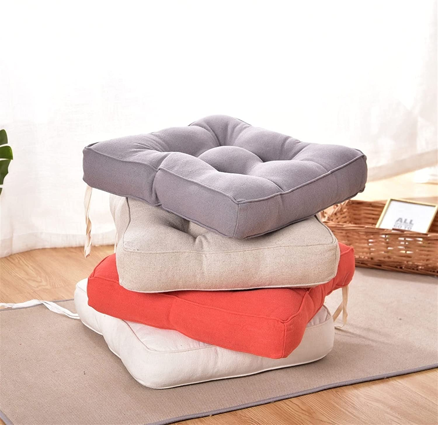 Outdoor Garden Cushion 1PCS 40cm Classic Square Sales wit Pad Chair Seat Back
