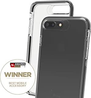Gear4 IC7L85D3 Piccadilly Case with Advanced Impact Protection [ Protected by D3O ], Slim, Tough Design for iPhone 7/8 Plus –, Piccadilly - Black