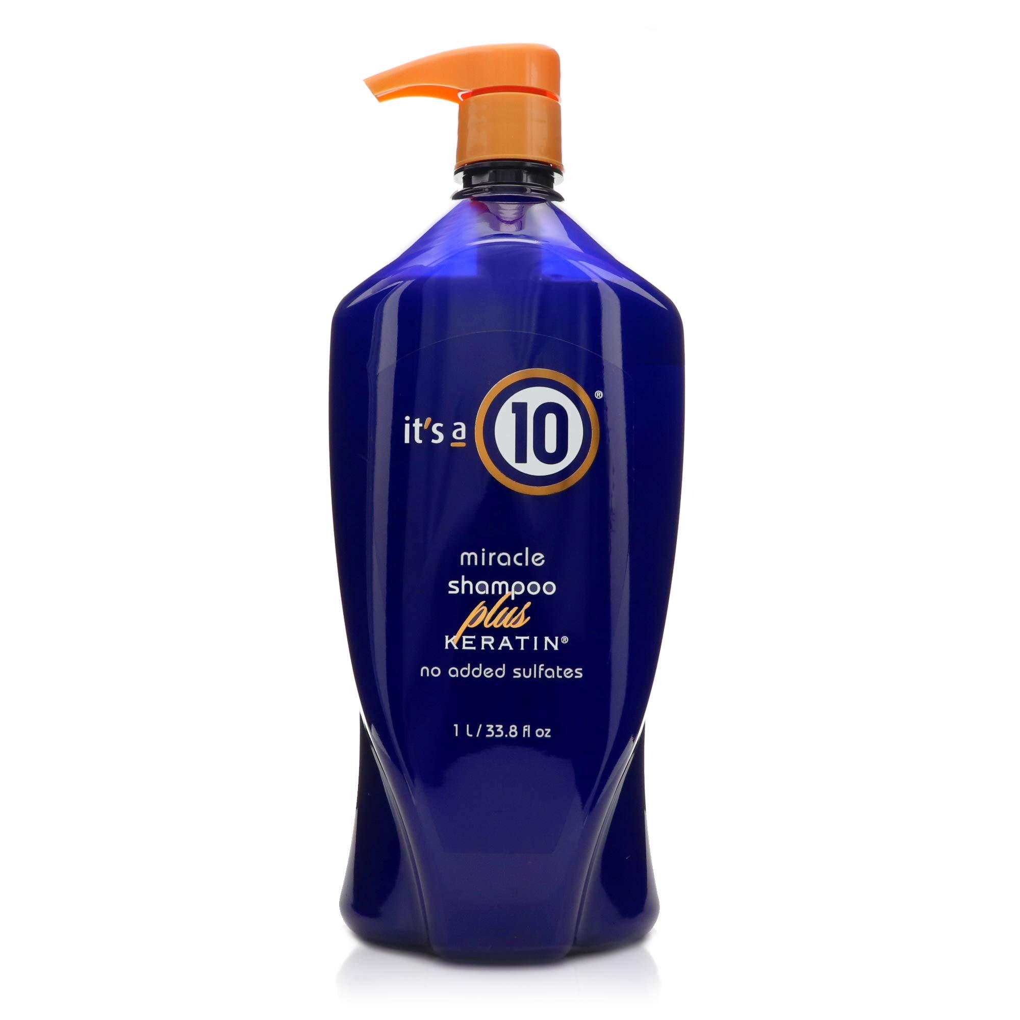 It's a 10 Haircare Miracle Shampoo Plus Keratin, 33.8 fl. oz.