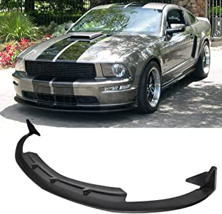 For 05-09 FORD MUSTANG V8 CV3 TYPE III Style PU Front Bumper Lip