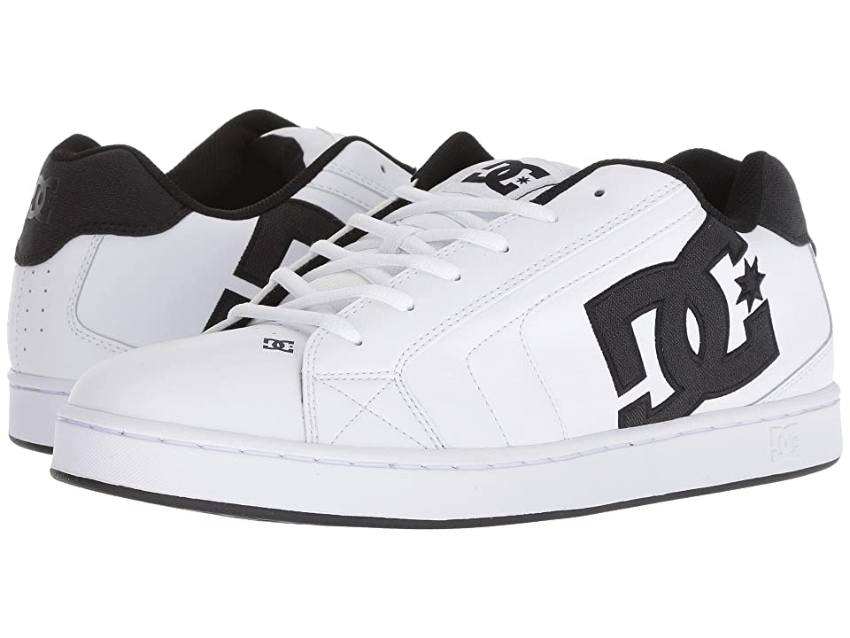 DC Net SE (White/White/Black) Men's Skate Shoes