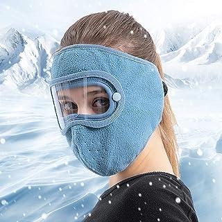 ohcoolstule Facial Protection Anti-Fog, Dust-Proof Full Face Protection Headgear Filtration 95%, Adjustable Headgear Full ...
