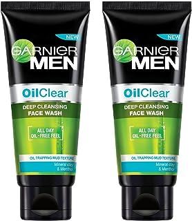 Garnier Men Oil Clear Face Wash, 100g (Pack of 2)