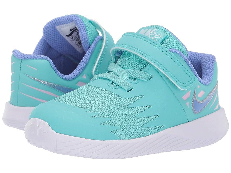 Nike Kids Star Runner (Infant/Toddler) (Light Aqua/Royal Pulse/White/Pink Foam) Girls Shoes