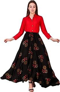 Daevish Women Shirt and Skirt Set