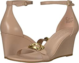 Odetta Wedge with Signature Buckle