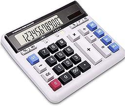 $44 » HAOPINZHI Multifunctional Calculator, Standard Function Handheld Calculators, Solar Power Office Calculator with Cover