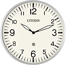 Citizen Clocks CC5012 Citizen Smart Echo Compatible Wall Clock with Multiple Timers, Silver