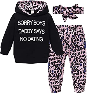Baby Girl Clothes,Hooded Long Sleeve Printed Leopard...