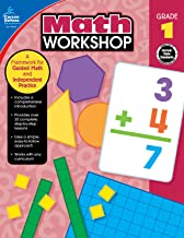 Carson-Dellosa Math Workshop Resource Book, Grade 1