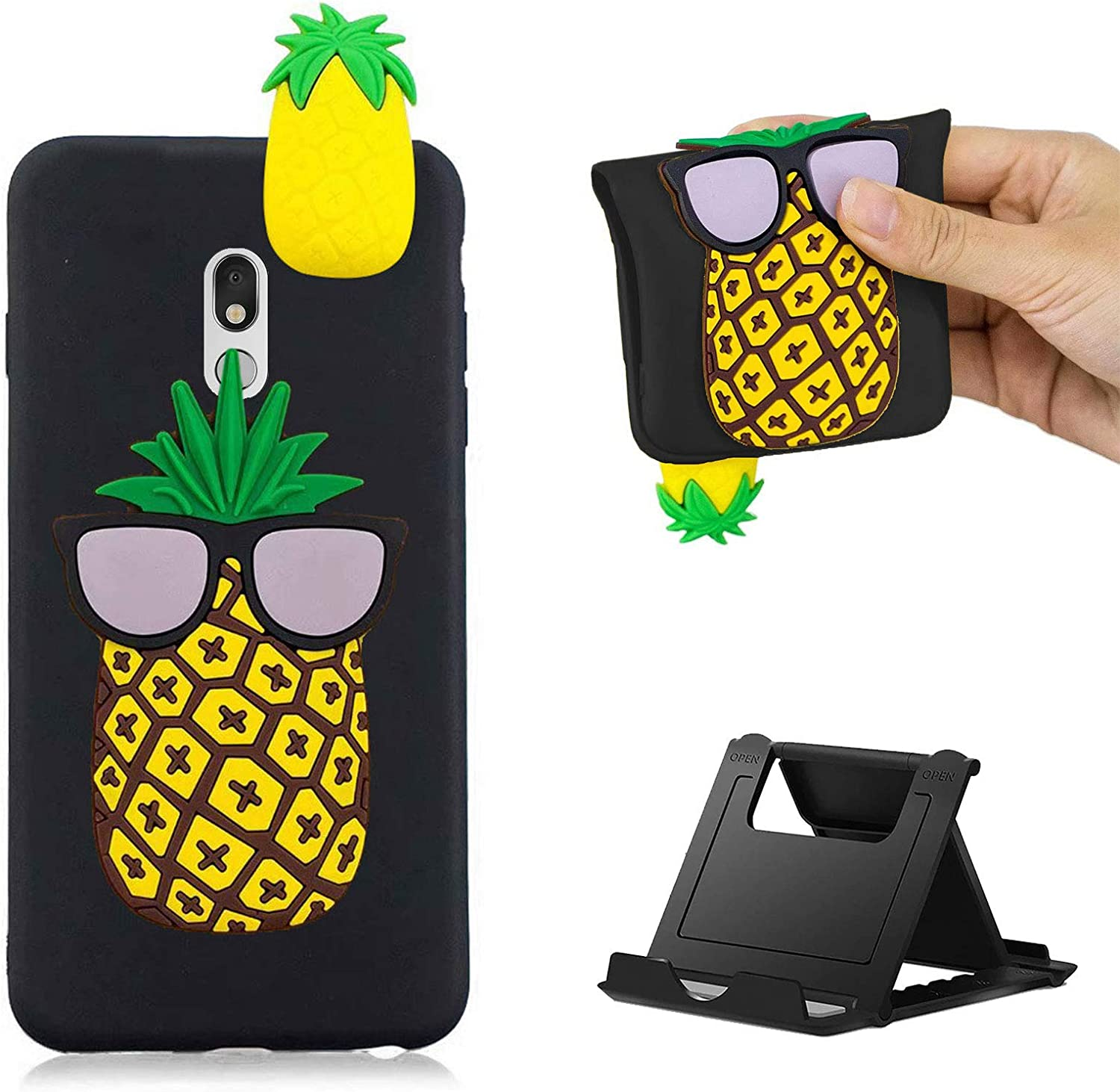 Shinyzone Compatible with OnePlus 8 New York Mall Silicone 3D Popular brand in the world Ana Cartoon Case