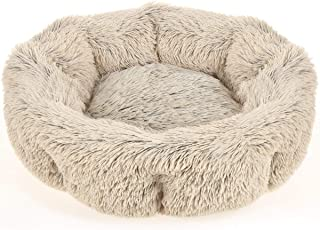 URPOWER Dog Bed, Upgraded Donut Cuddler Round Dog Cushion Bed, Ultra Soft Cozy Pet Beds Fluffy Dog Calming Bed Dog Beds for Improved Sleep - Removable and Supportable Bottom