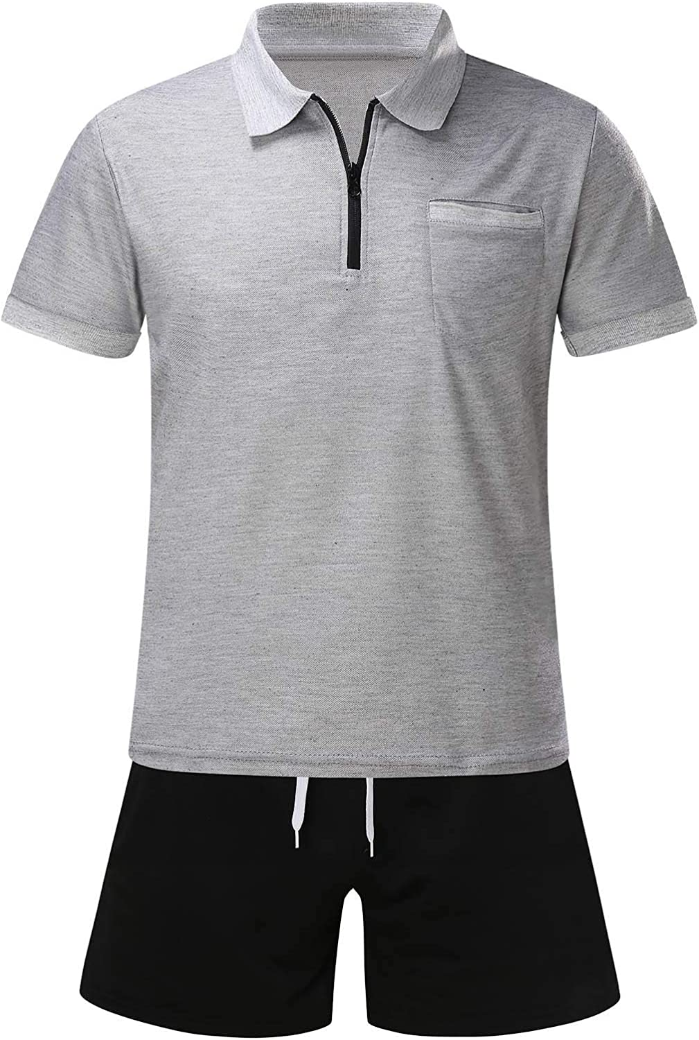 Max 68% OFF JSPOYOU Men's Tracksuit Summer Free shipping anywhere in the nation 2 Short Casual Pieces Activewear