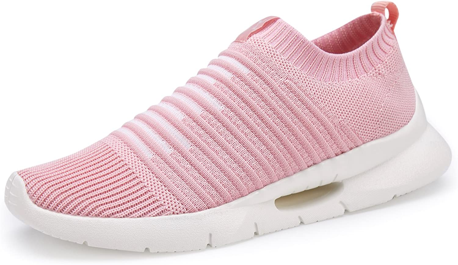 Women's Sneakers Breathable Walking shoes Slip-on Casual Sneakers Mesh Athletic shoes