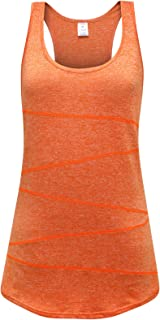 OThread & Co. Women's Yoga Tank Top Performance Activewear Running Workout Moisture-Wicking Stylish A-Shirt