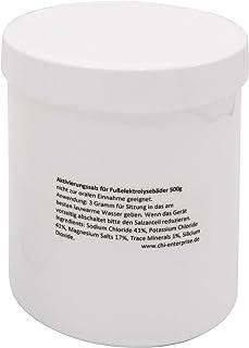 500 g de sel d'activation pour Hydrosana, Bioenergizer Detox Spa, Ion Cleanser, Royal Spa et autres bains de pieds - teneu...