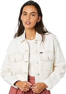 Lee Women's Volume Crop Jacket Cotton Natural