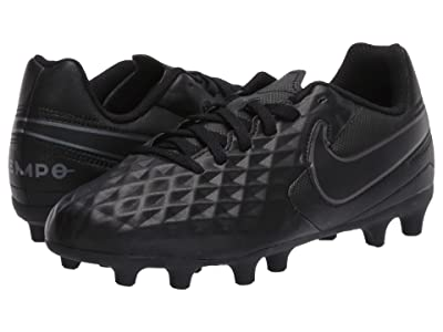 Nike Kids Jr Legend 8 Club FG/MG Soccer (Toddler/Little Kid/Big Kid) (Black/Black) Kids Shoes
