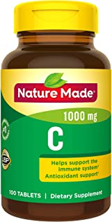 Nature Made Vitamin C Tablet, 1000 mg, 100 Count