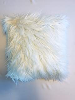 Faux Fur Throw Pillow Cover, 16