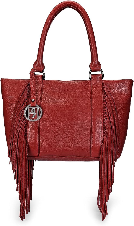 Phive Rivers Women's Handbag (Red) (PR1068)