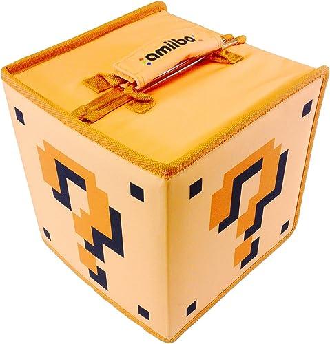 HORI Amiibo Travel Case 8 for Nintendo Wii U & NEW 3DS XL