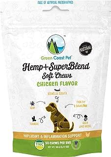 Green Coast Pet Hemp+Superblend Soft Chews - Chicken