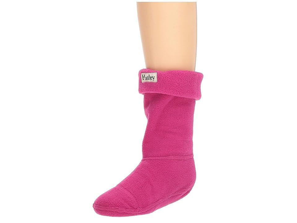 Hatley Kids Magenta Boot Liners (Toddler/Little Kid) (Magenta) Girls Shoes