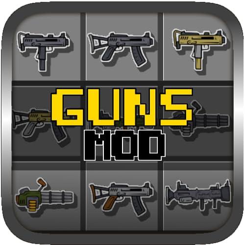 Weapons & Guns MOD PE