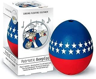 Brainstream BeepEgg Singing Floating Patriotic Egg Timer