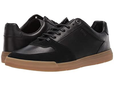 BOSS Hugo Boss Cosmo Ten Sneakers by BOSS (Black) Men