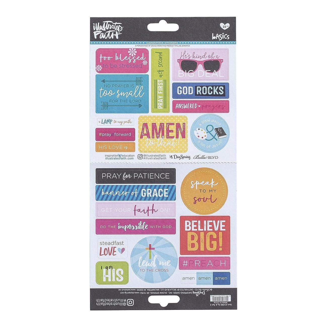 Illustrated Faith - Cardstock Stickers - Sunglasses
