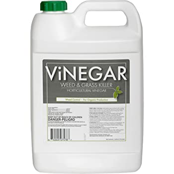 Energen Carolina LLC 578 Vinegar Weed & Grass Killer Approved for Organic Production Pet Safe Glyphosate Free Herbicide, Gallon 1, Yellow