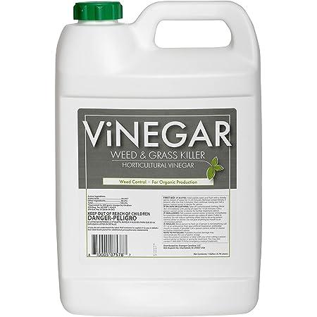 Energen Carolina LLC 578 Vinegar Weed & Grass Killer Approved for Organic Production Pet Safe Glyphosate Free Herbicide, Gallon 1, Yellow