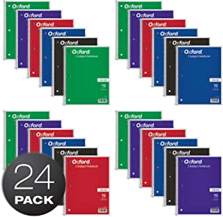 Oxford 1-Subject Notebooks, 8
