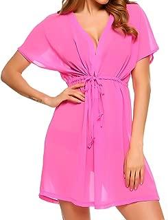 Cover Ups for Swimwear Women Chiffon Blouse Sheer Swim Bathing Suit