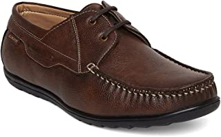 Duke Men's Synthetic Casual Shoes - 9 Brown