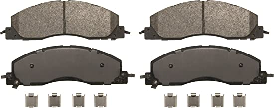 Wagner Severe Duty SX1399 Semi-Metallic Disc Pad Set Includes Installation Hardware, Front