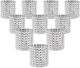 Best acrylic napkin rings with flower niche Reviews