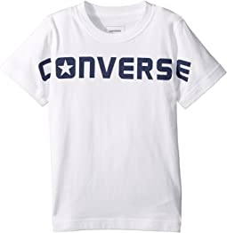 Converse Kids - Wordmark Tee (Toddler/Little Kids)