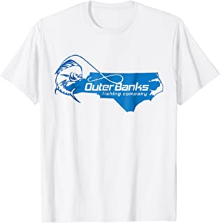 Outer Banks OBX Fishing short sleeve t-shirt