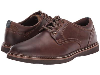 Nunn Bush Ridgetop Plain Toe Oxford (Brown CH) Men